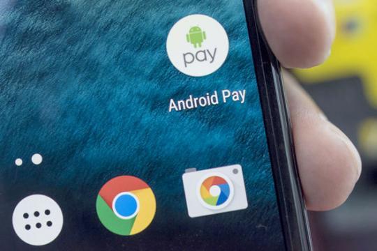 В последующем 2017г. в Российскую Федерацию выйдет андроид Pay