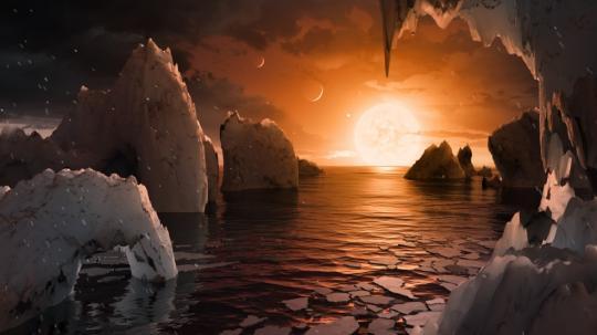 Ученые обнаружили семь экзопланет, три изкоторых могут быть пригодны для жизни