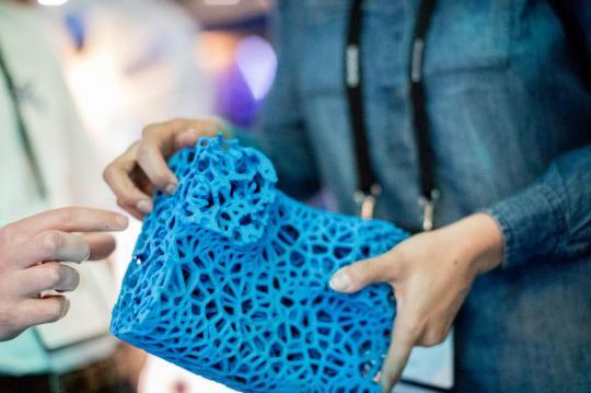 Michelin представил непробиваемые шины которые можно печатать на3D принтере
